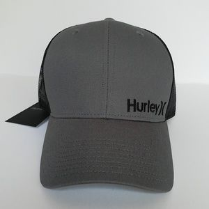 HURLEY CORP STAPLE Baseball Trucker Snapback Hat